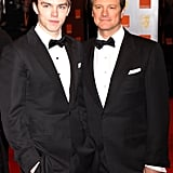 Nicholas Hoult and Colin Firth, 2010