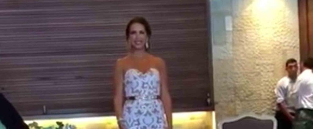 Bride's Wedding Tribute to Her Deaf Husband