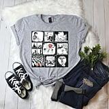 Peyton Sawyer Art Collage T-Shirt