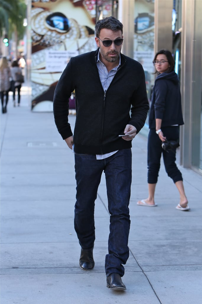 Ben Affleck caught the attention of a passerby.