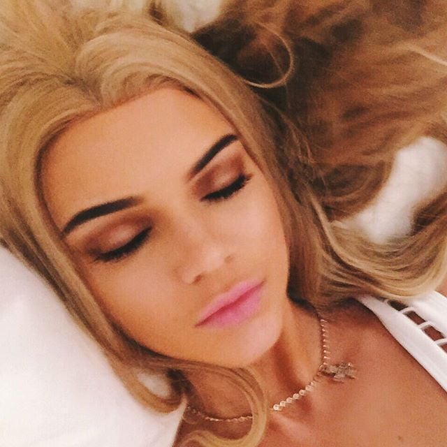 Kendall Jenner With Blonde Hair | 2015
