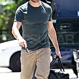 Jake Gyllenhaal Means Business at the Boxing Studio