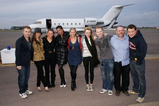 09/03/2009 Comic Relief Kilimanjaro Celebs Return Home