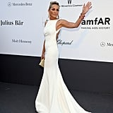 Sharon Stone at the amfAR gala in Cannes.