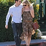 Kate Bosworth and Michael Polish looked sweet together.