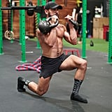 Double Front Racked Reverse Lunge