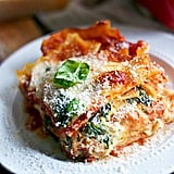 Four-Cheese Sausage and Spinach Lasagna