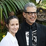 Pictured: Jeff Goldblum and Emilie Livingston