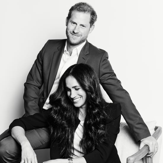 See Prince Harry and Meghan's Time100 Talks Portrait