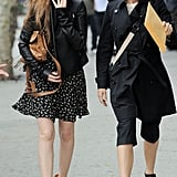 Isla Fisher and Naomi Watts went to lunch in NYC.