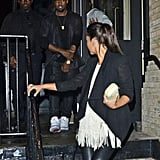 Kim Kardashian and Kanye West Step Out as a Couple in NYC