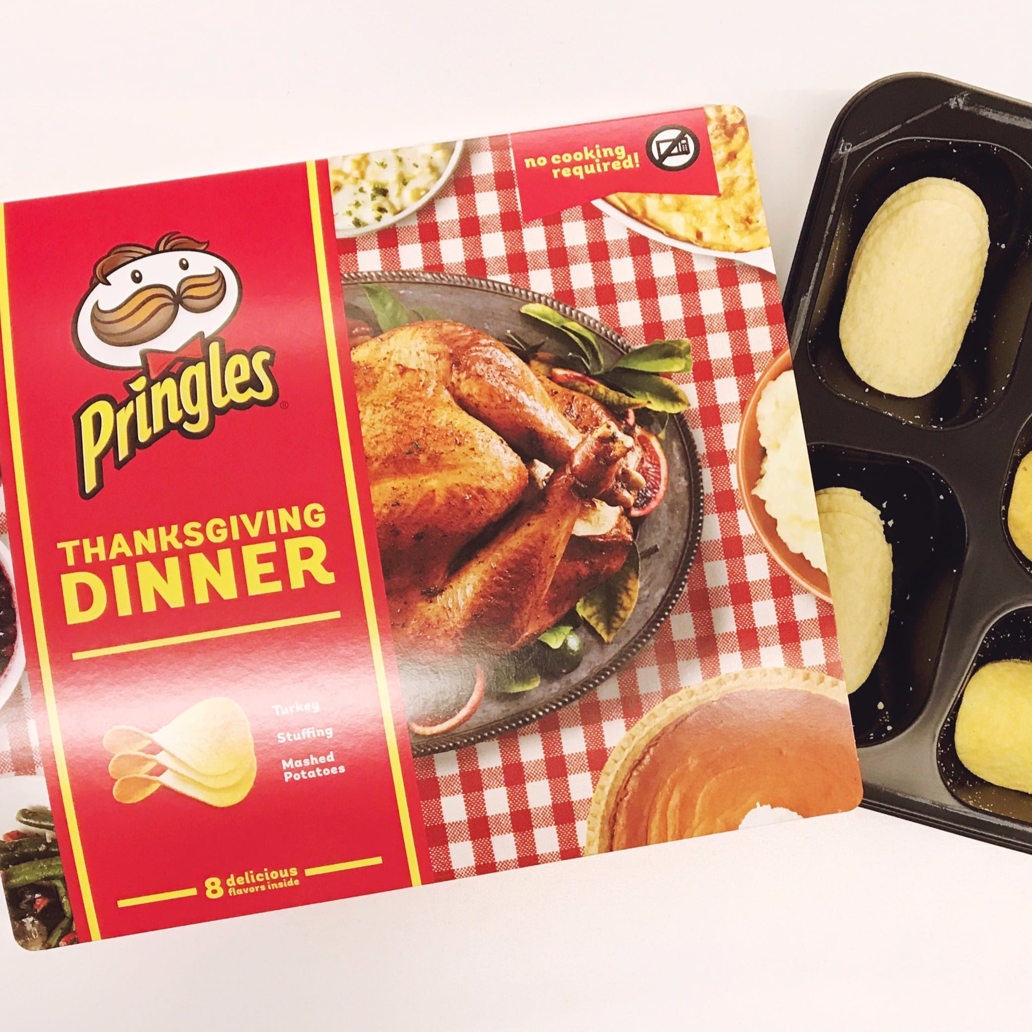 Thanksgiving Dinner Pringle Flavors Review   POPSUGAR Food