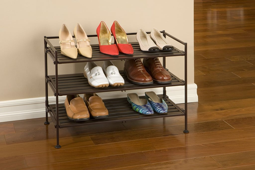 Seville Classics Resin Slat Utility Shoe Rack