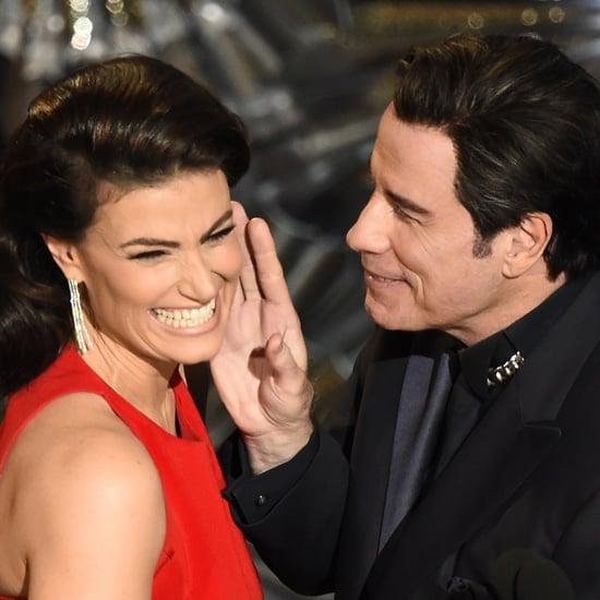 John Travolta and Idina Menzel at the Oscars 2015 | Pictures