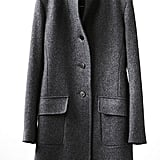 Fine-wool, Chesterfield single-breasted men's coat, £149.99