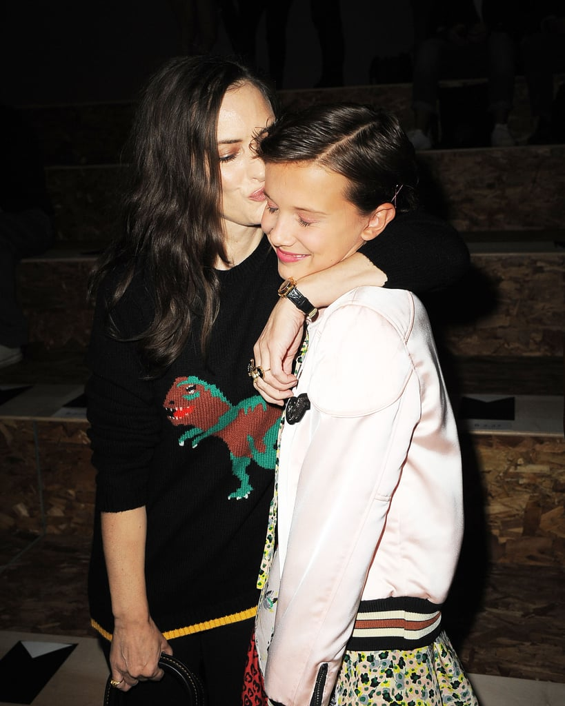 Winona Ryder and Millie Brown in NYC