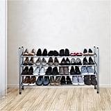 Simplify 4 Tier Expandable Shoe Rack