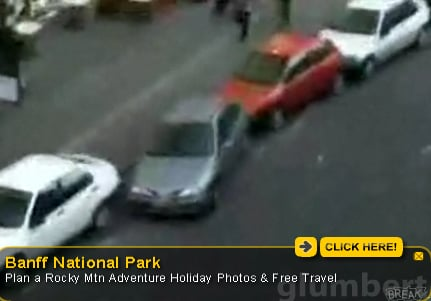 This Dude Cannot Parallel Park