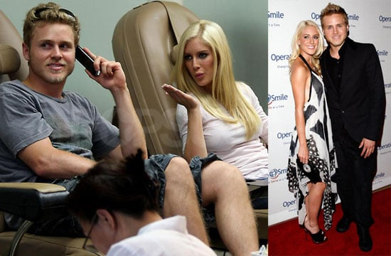 Photos of Heidi Montag and Spencer Pratt Getting Manicures in LA