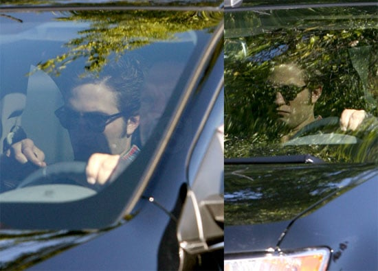 Photos of Robert Pattinson on Set of Eclipse in Vancouver