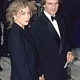Alex Kingston and Ralph Fiennes, 1999