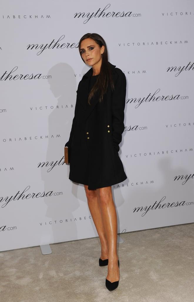 Victoria Beckham at her Victoria Beckham Spring presentation in Munich.
