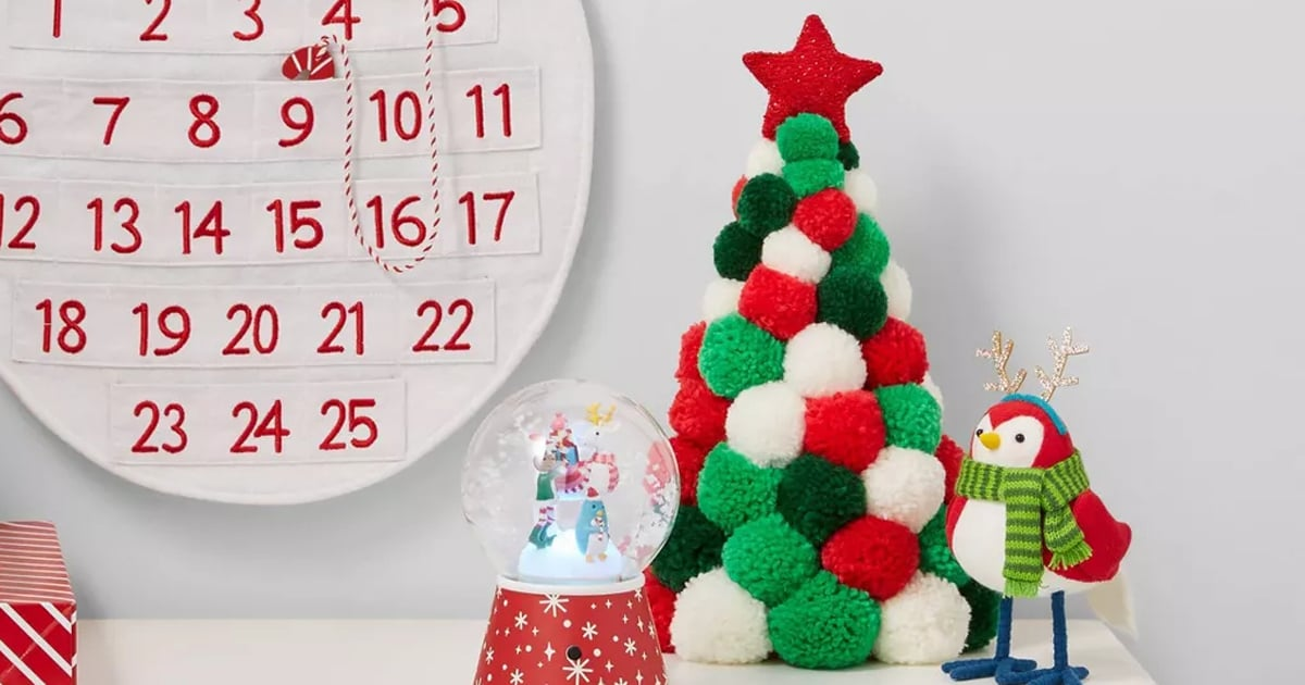 Target's Pom-Pom Christmas Trees Are Pretty Much the Embodiment of Holiday Cheer