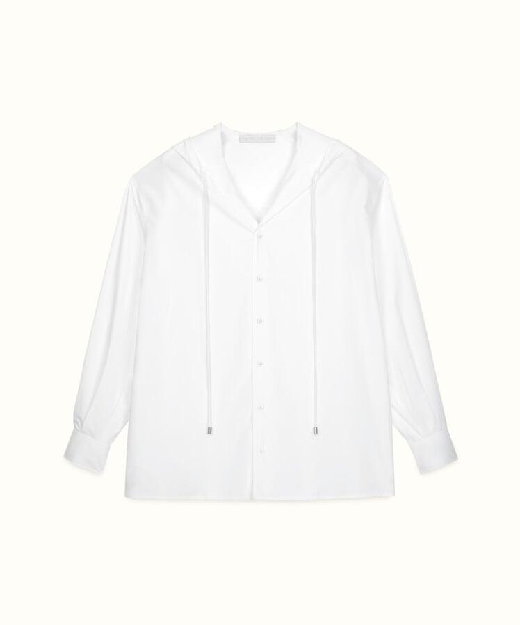 Fenty Hoodie Button-Down Shirt