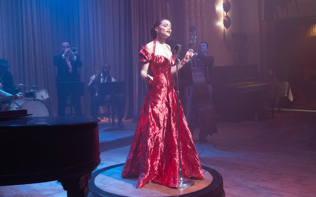 Andra Day Looks Just Like Billie Holiday in These Dresses