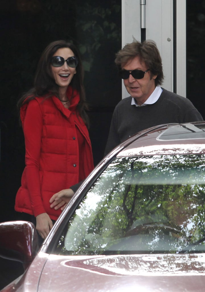 Paul McCartney and Nancy Shevell in London After Their Wedding