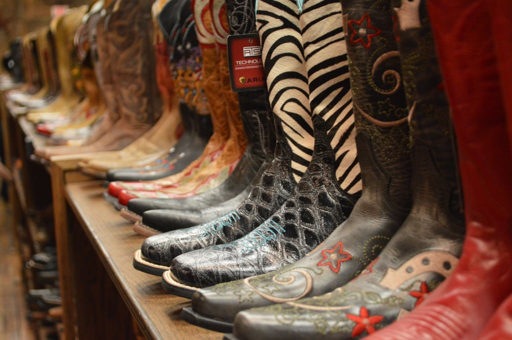 Invest in a sturdy pair of cowboy or cowgirl boots from Nashville.