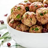 Apple Cranberry Turkey Meatballs