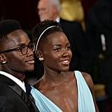 Lupita and Peter Nyong'o