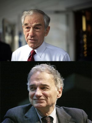 What Do Ron Paul and Ralph Nader Have in Common?
