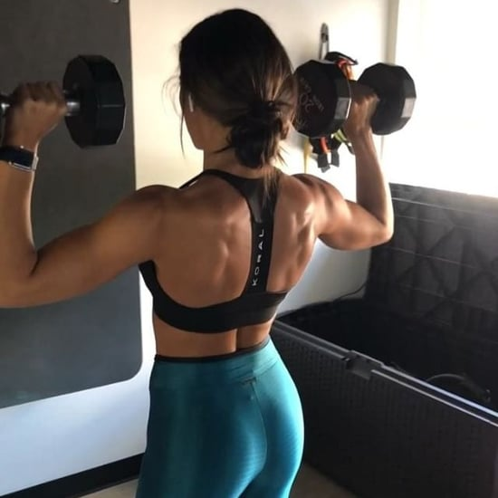 Kelsey Wells Dumbbell Shoulder Workout