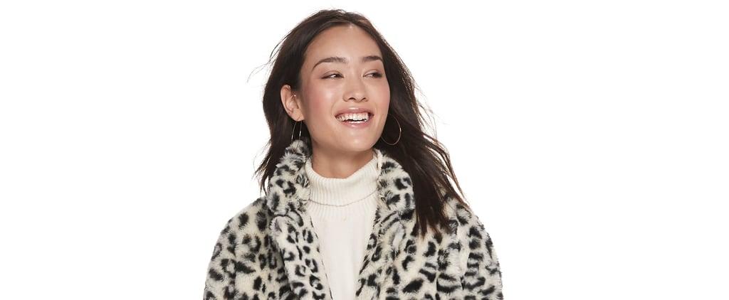 Faux Fur Coats Under $100 From POPSUGAR at Kohl's