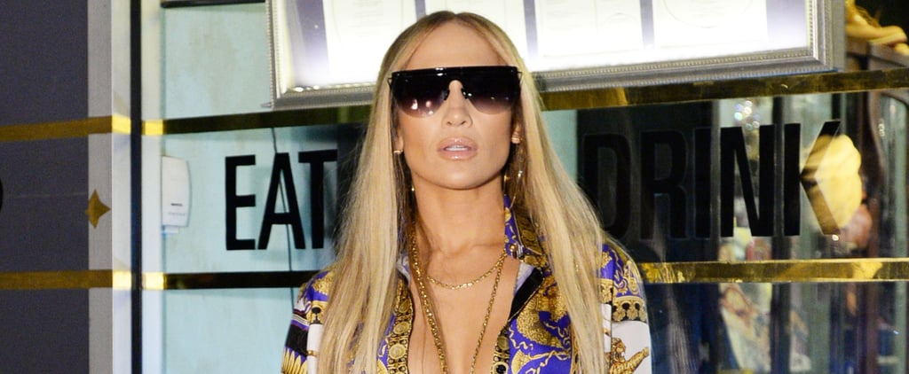 Jennifer Lopez MTV VMAs 2018 Afterparty Versace Look