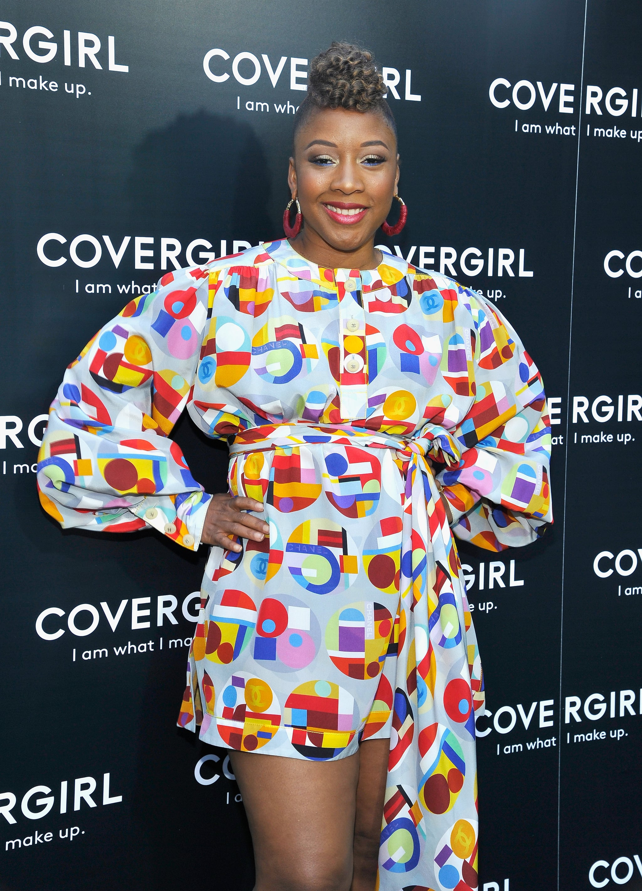 LOS ANGELES, CA - MAY 08:  Ukonwa Ojo attends a COVERGIRL sneak peek to their Fall 2018 Makeup line with COVERGIRL'S SVP, Ukonwa Ojo on May 8, 2018 in Los Angeles, California.  (Photo by John Sciulli/Getty Images for COVERGIRL) *** Local Caption *** Ukonwa Ojo