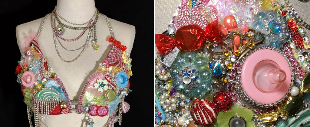 Get Up Close With Nicki Minaj's Wild Pregnancy-Reveal Bra