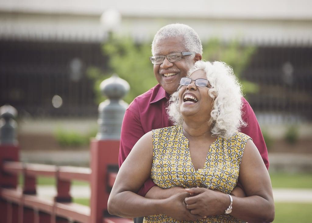 Older Couple's Engagement Photos