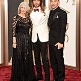 Constance, Jared and Shannon Leto