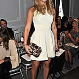Bar Refaeli at the Dior show.