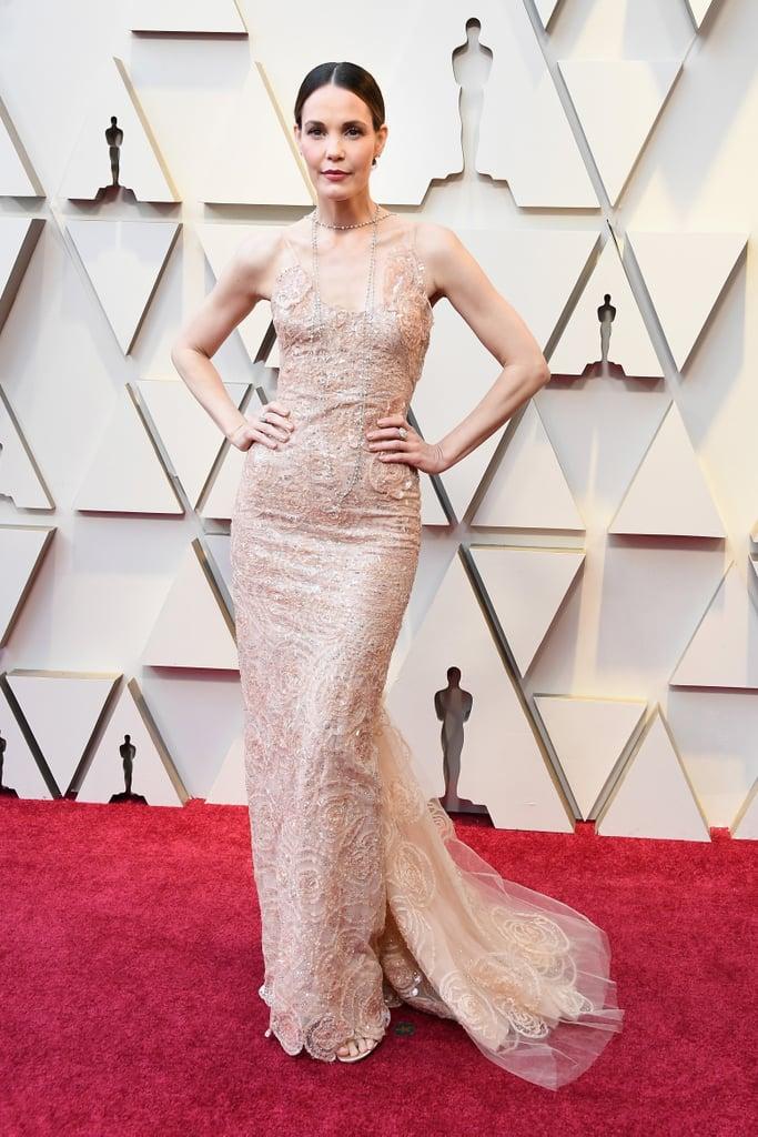 Leslie Bibb at the 2019 Oscars