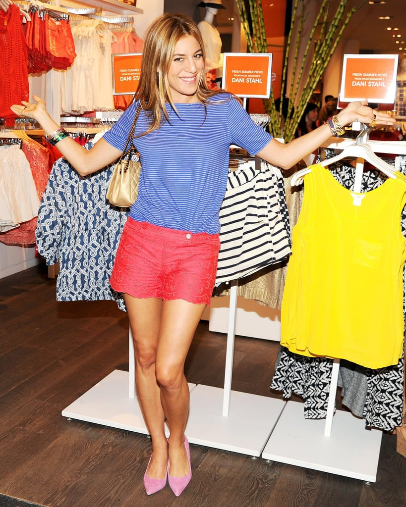 Dani Stahl at the Nylon and Joe Fresh Summer shopping event in New York. Source: Billy Farrell/BFAnyc.com