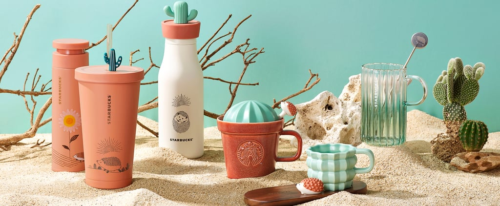 Starbucks Asia-Pacific's Hedgehog Collection For Summer 2021