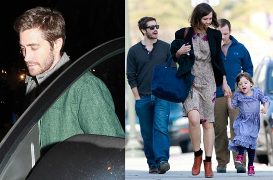 Photos of Jake Gyllenhaal, Maggie Gyllenhaal, Peter Sarsgaard, and Ramona Sarsgaard Together in LA