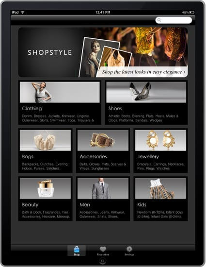Shopstyle.co.uk launches fashion shopping application for iP