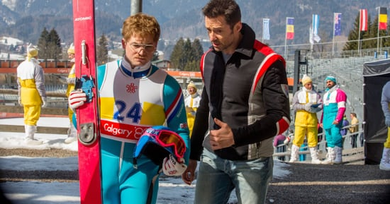 Taron Egerton And Hugh Jackman On Finding Inspiration And Orgasms In 'Eddie The Eagle'