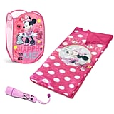 Disney Minnie Mouse Sleepover Set With Bonus Hamper