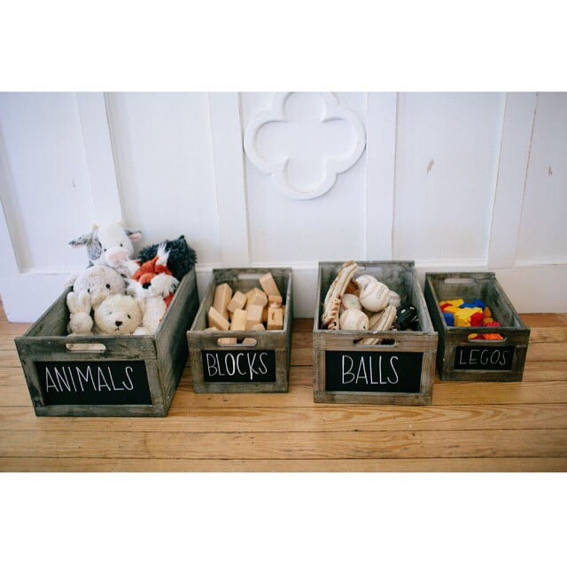 Crates Can Keep Your Playroom Organized